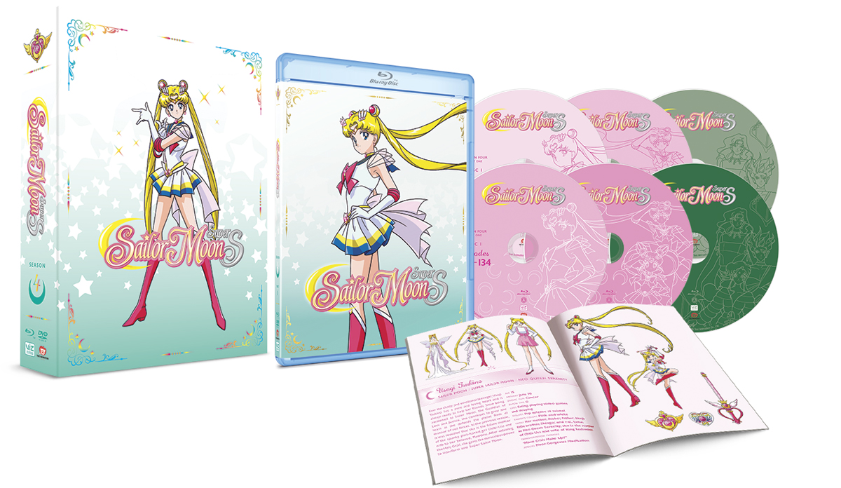 Sailor Moon Super S Limited Edition Blu-ray/DVD 782009244134