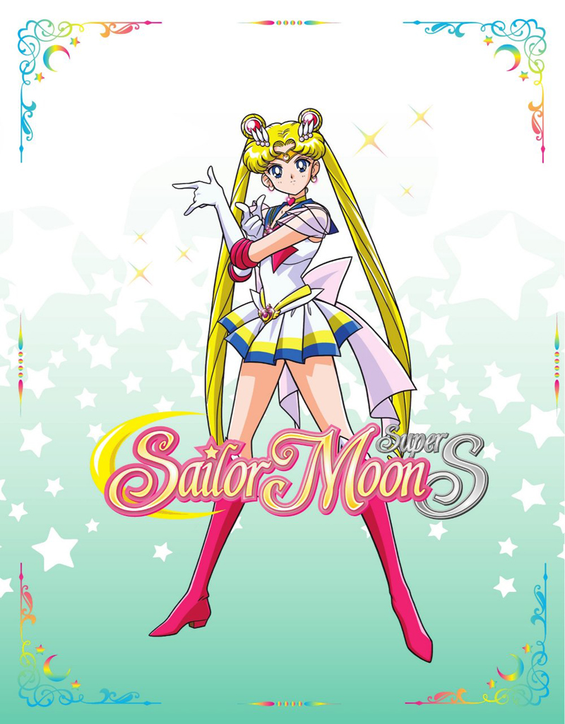 Sailor Moon Super S Limited Edition Blu-ray/DVD + GWP 782009244134gwp