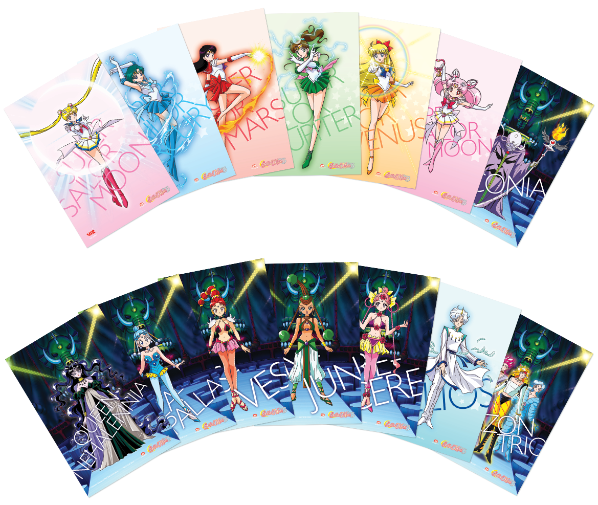 Sailor Moon Super S Part 2 Blu-ray/DVD + GWP