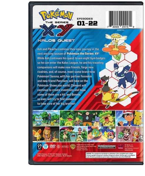 Pokemon XY Kalos Quest Set 1 DVD