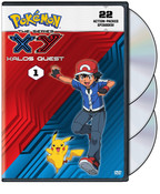 Pokemon XY Kalos Quest Set 1 DVD