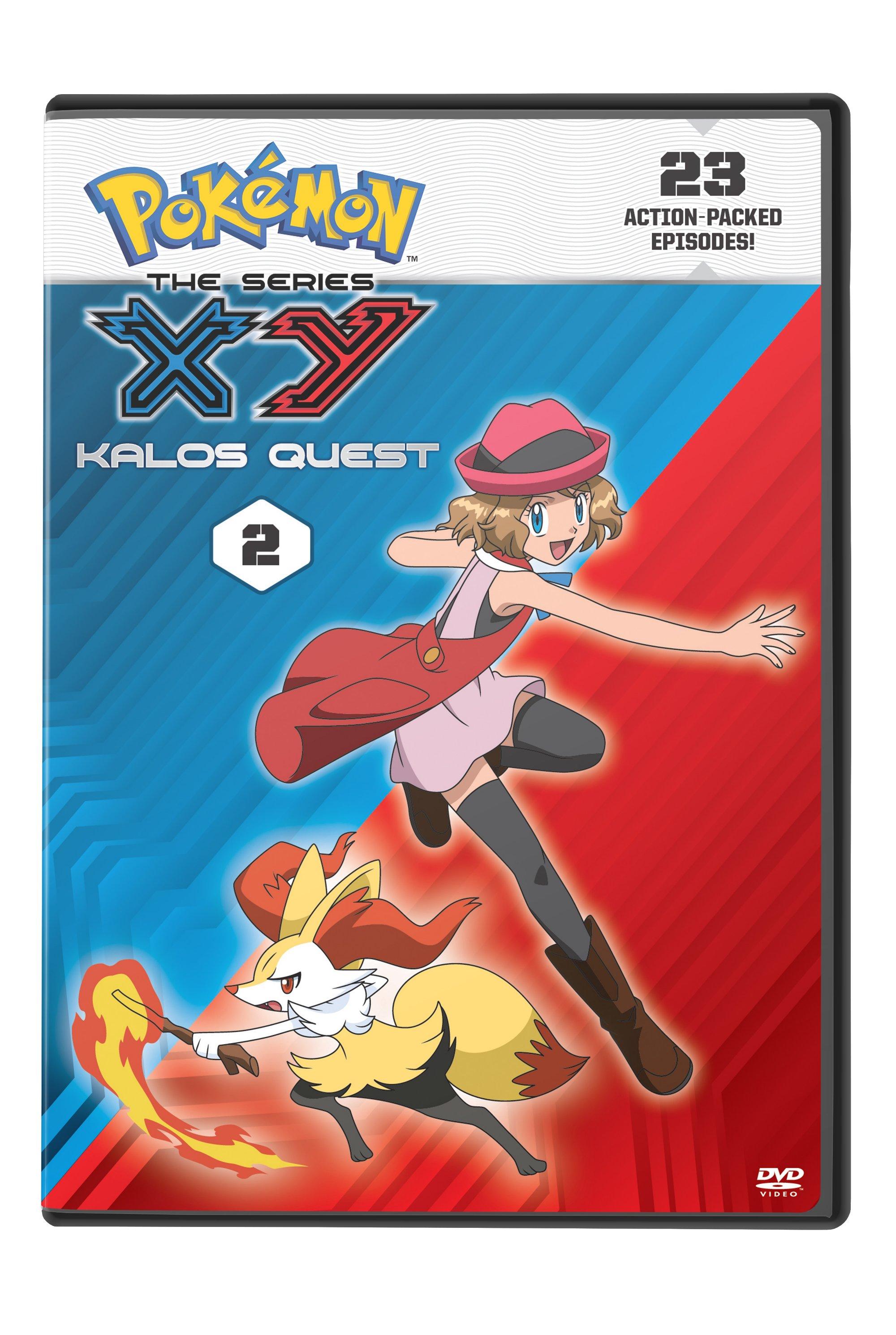 Pokemon XY Kalos Quest Set 2 DVD 782009244196