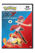 Pokemon XY Kalos Quest Set 2 DVD
