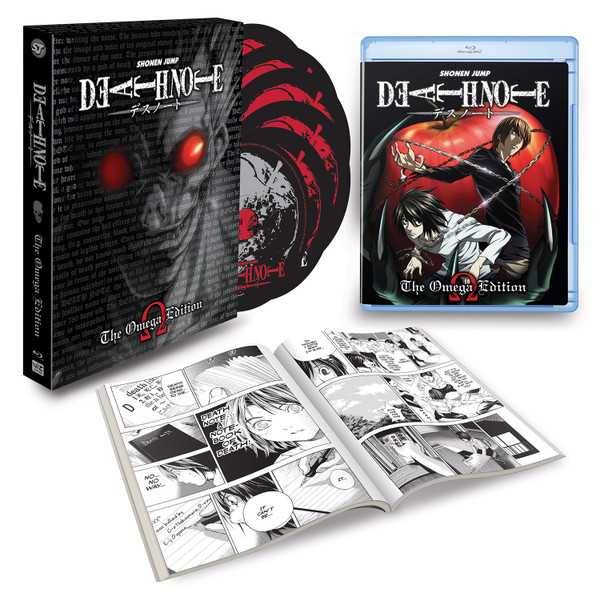 Death Note Complete Series Omega Edition Blu-ray