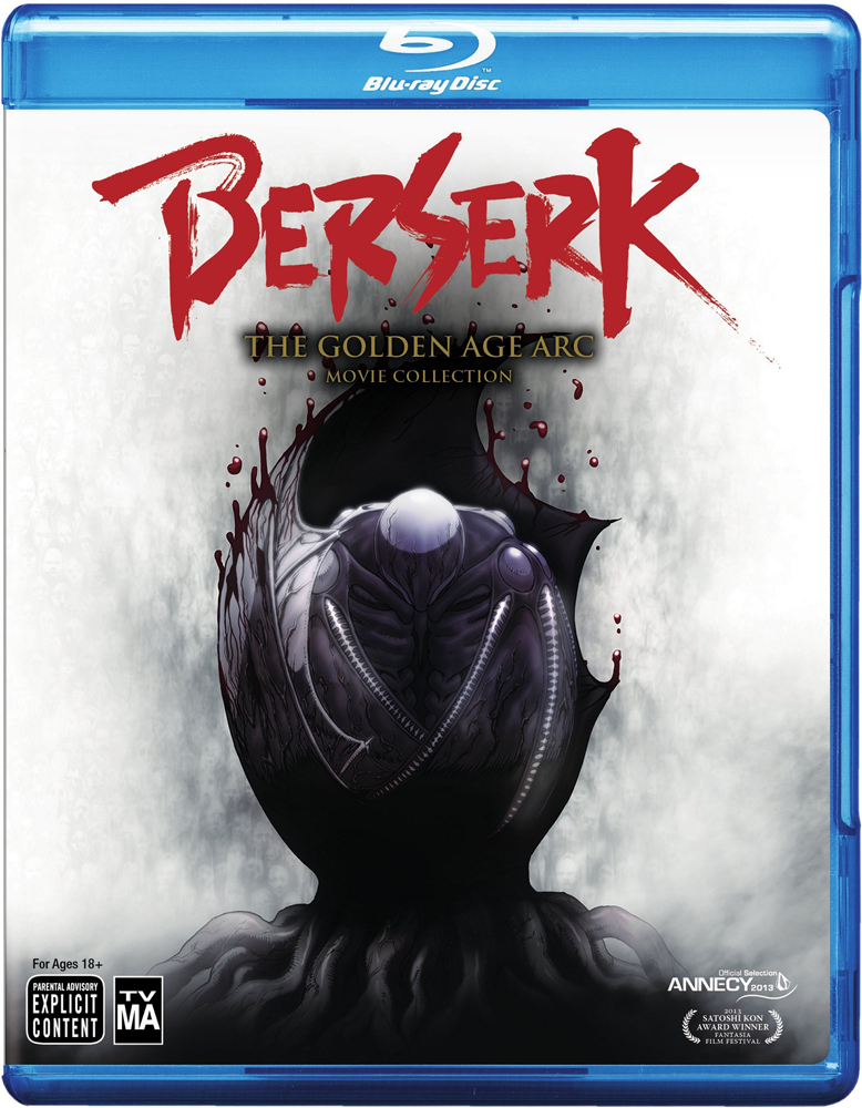 Berserk The Golden Age Arc Movie Collection Blu-ray 782009244264
