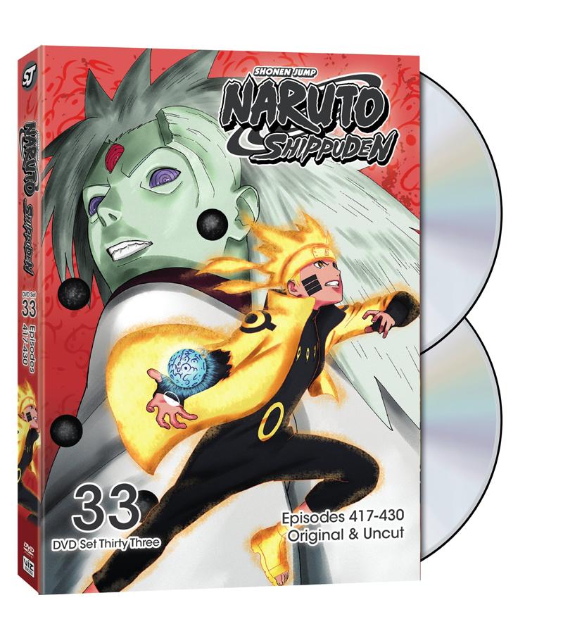 Naruto Shippuden Set 33 DVD Uncut