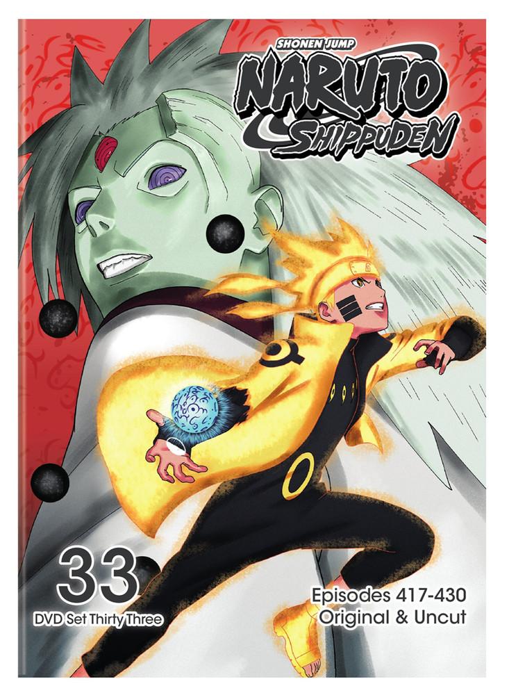 Naruto Shippuden: Anime TV Series Set 33 Episodes 417-430