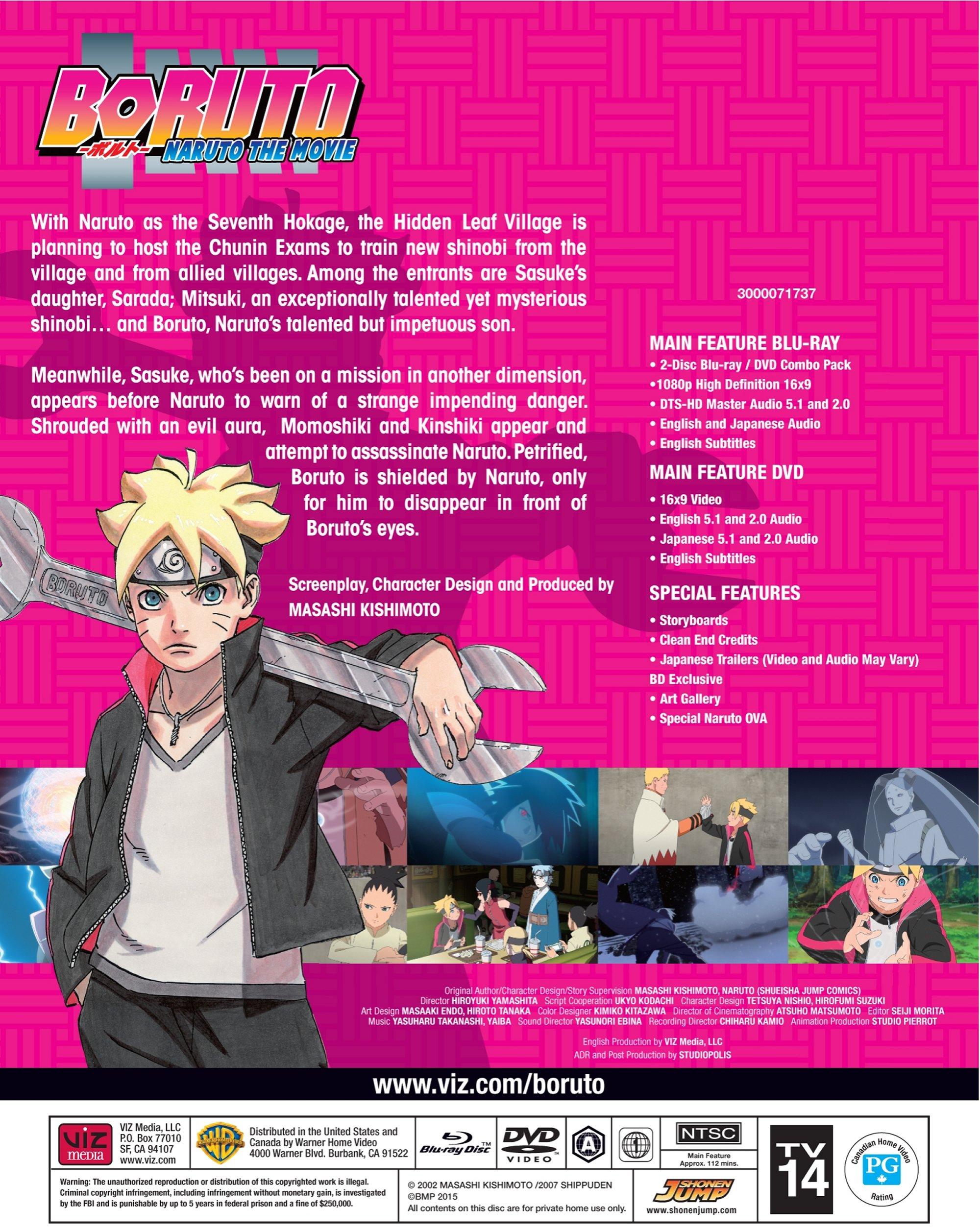 boruto naruto the movie blu ray dvd
