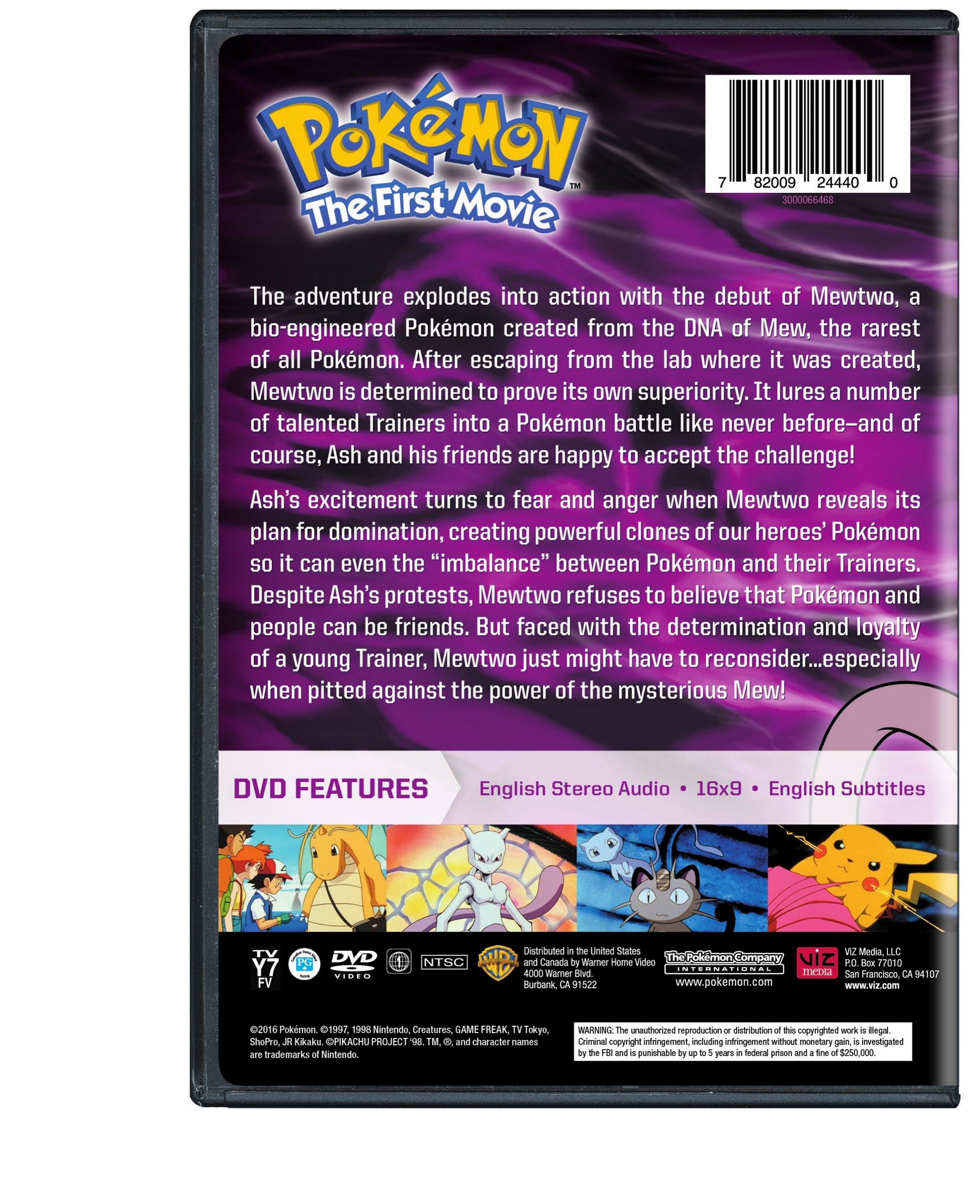 Pokemon The First Movie Dvd