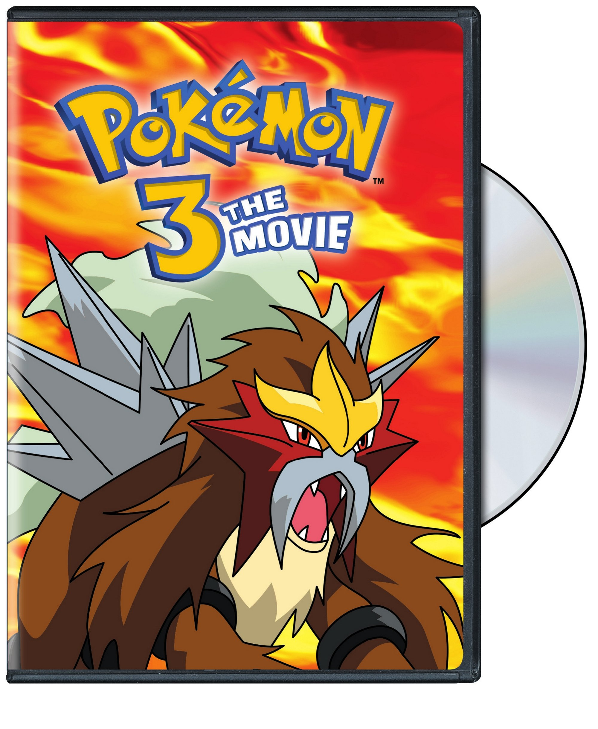Pokemon The Movie 3 Spell of the Unown DVD 782009244424