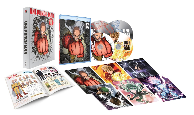 One-Punch Man Limited Edition Blu-ray/DVD + GWP 782009244486gwp