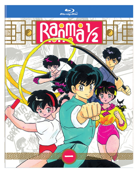 Ranma 1/2 Standard Edition Blu-ray Set 1