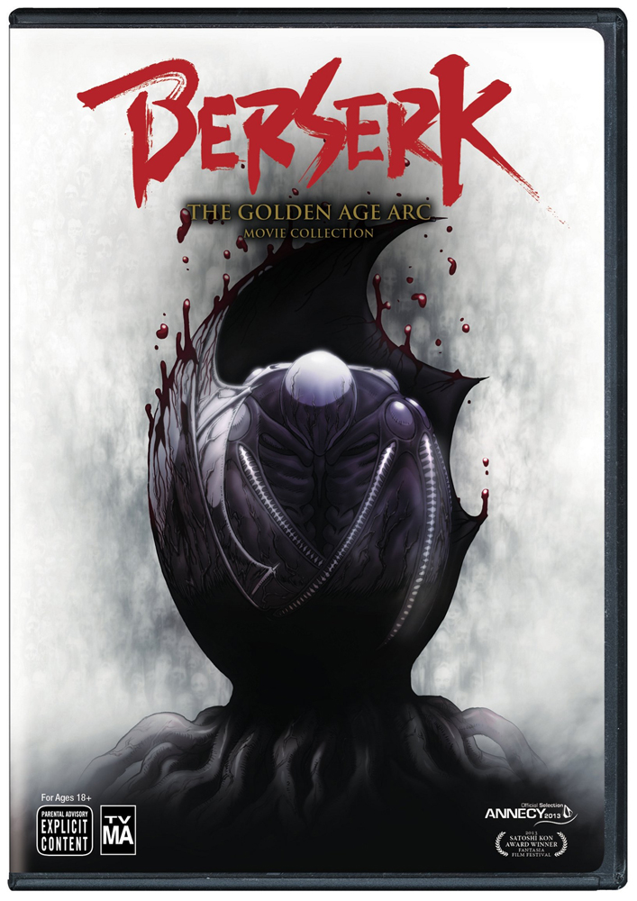 Berserk The Golden Age Arc Movie Collection DVD 782009244622