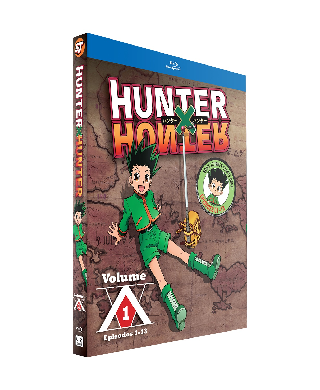Hunter X Hunter Set 1 Blu-ray + GWP 782009244677gwp