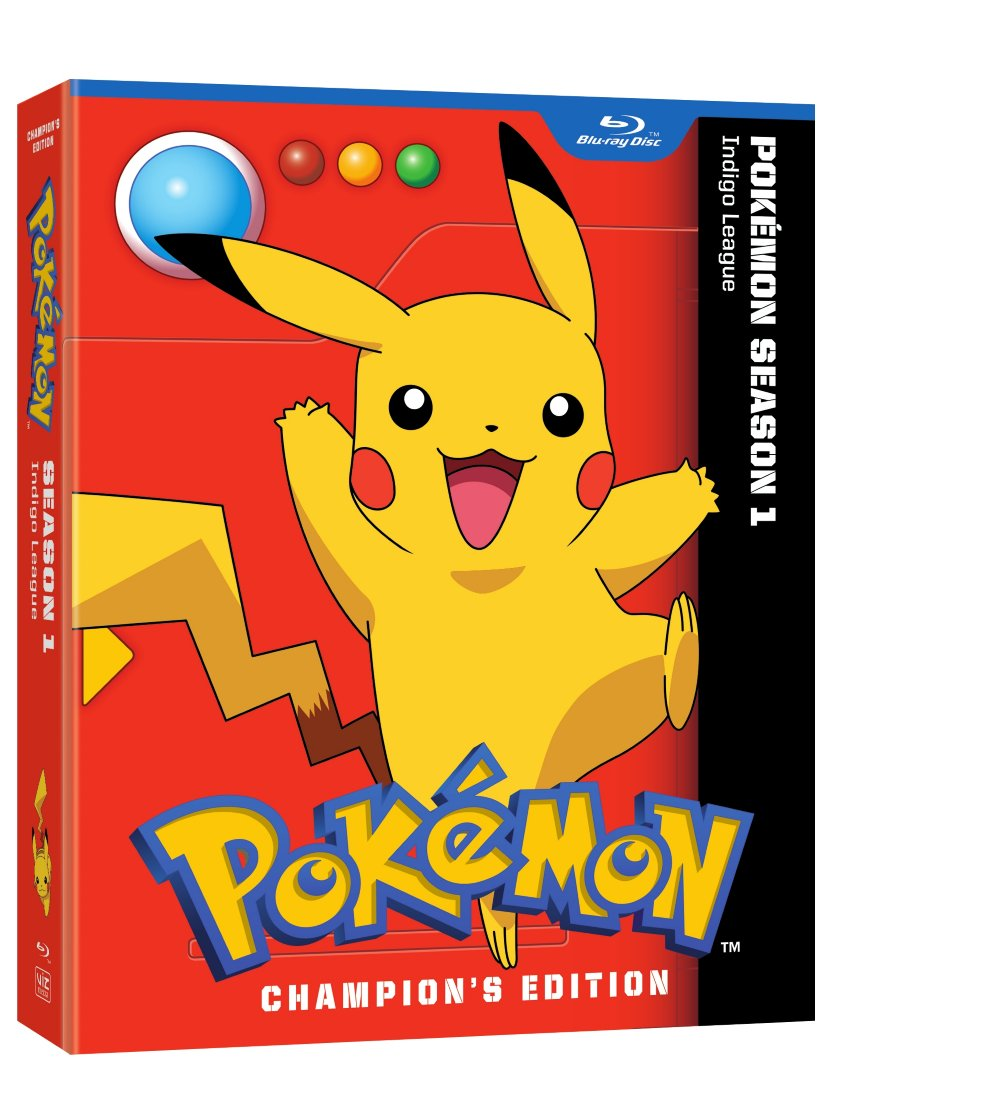 Pokemon Indigo League Season 1 Blu-ray 782009244684
