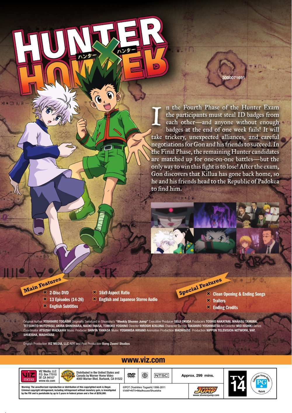 Drama Romance Books: Hunter X Hunter Set 2 DVD