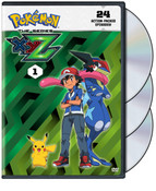Pokemon XYZ Set 1 DVD