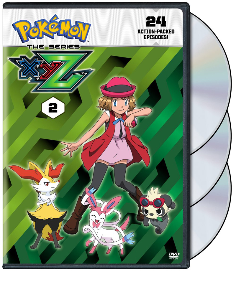 Pokemon XYZ Set 2 DVD