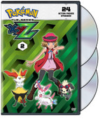 Pokemon XYZ Set 2 DVD