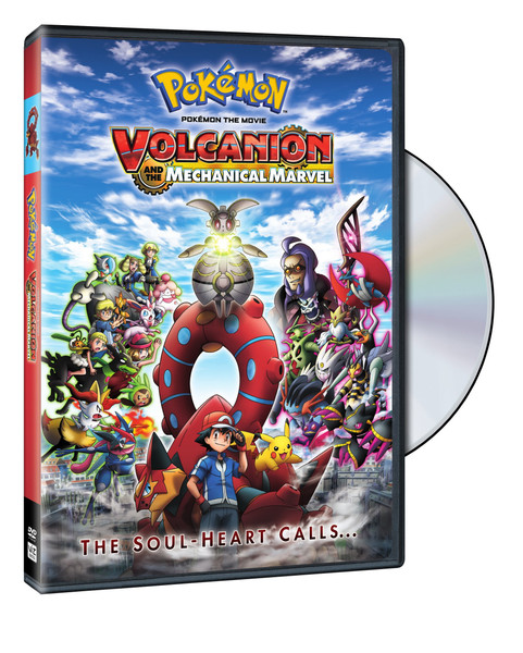 Pokemon Movie 19 Volcanion and the Mechanical Marvel DVD
