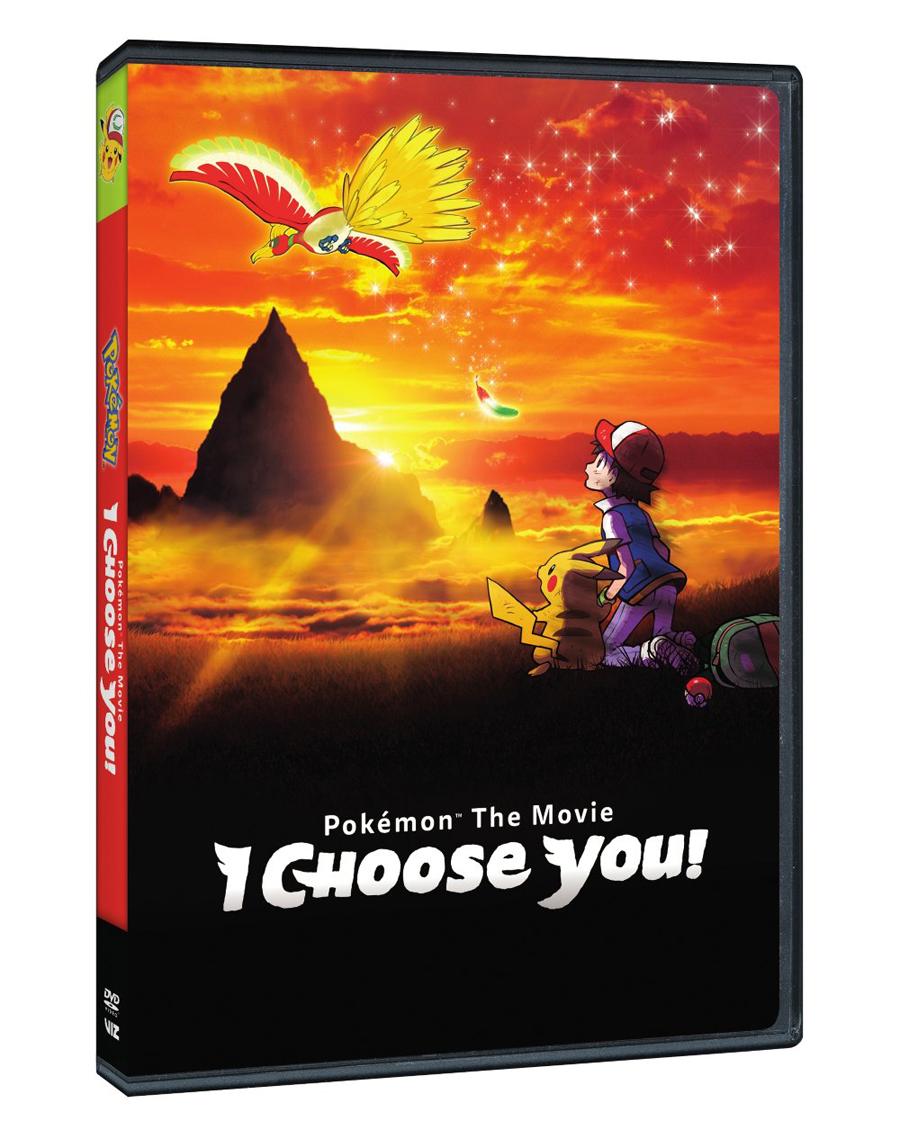 Pokemon the Movie I Choose You! DVD