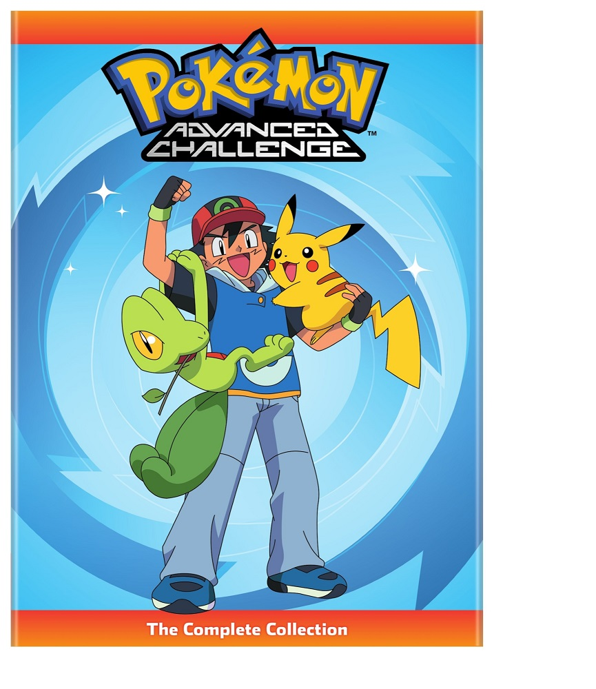 Pokemon Advanced Challenge Complete Collection DVD 782009244820
