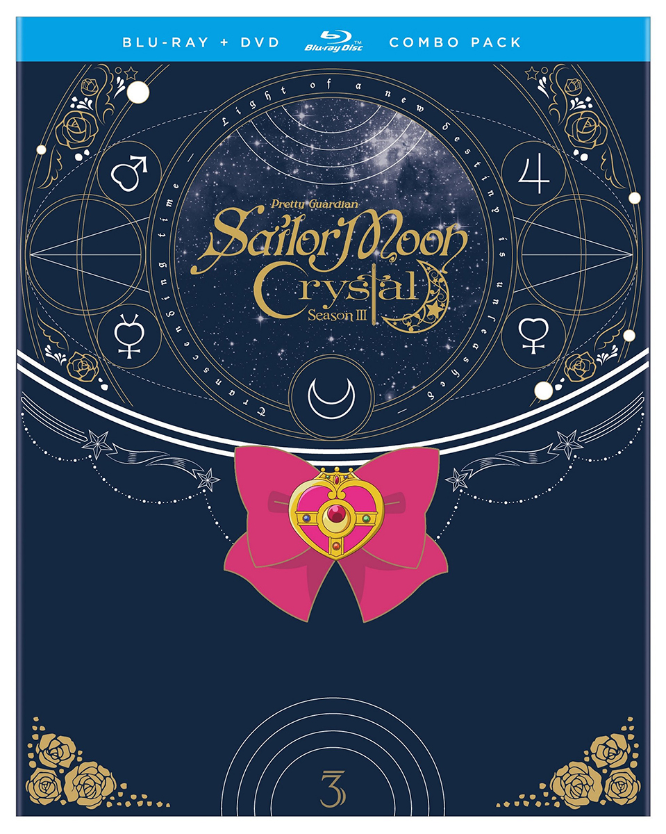 Sailor Moon Crystal Set 3 Blu-ray/DVD 782009244844