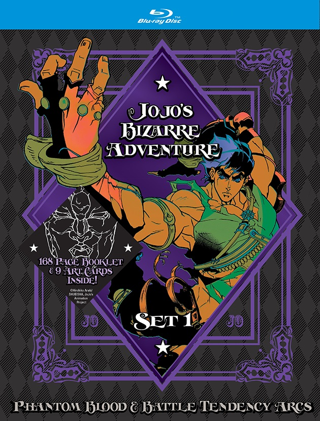 JoJo's Bizarre Adventure Season 1 Limited Edition Blu-ray 782009244875