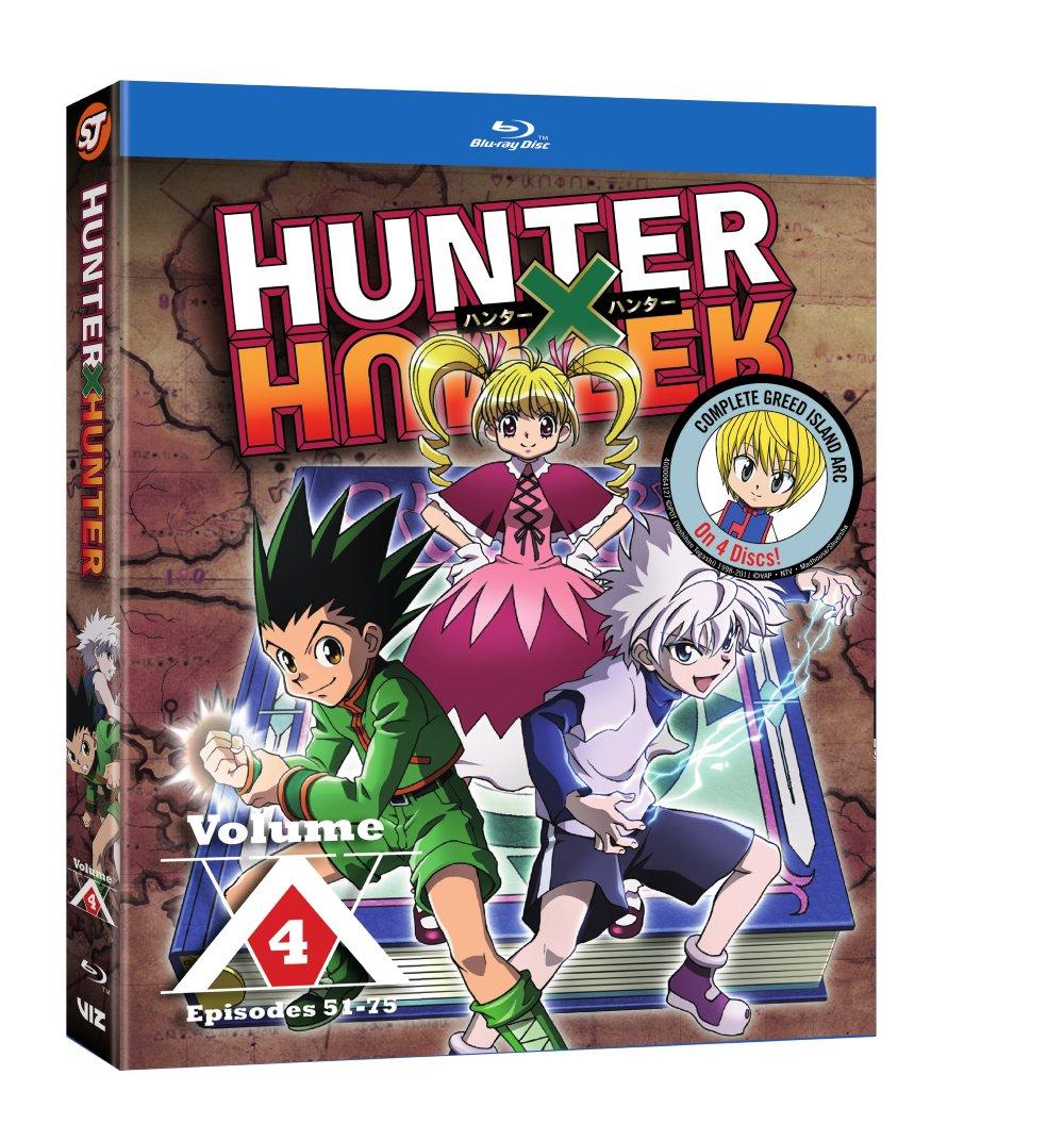 Hunter X Hunter Set 4 Blu-ray + GWP