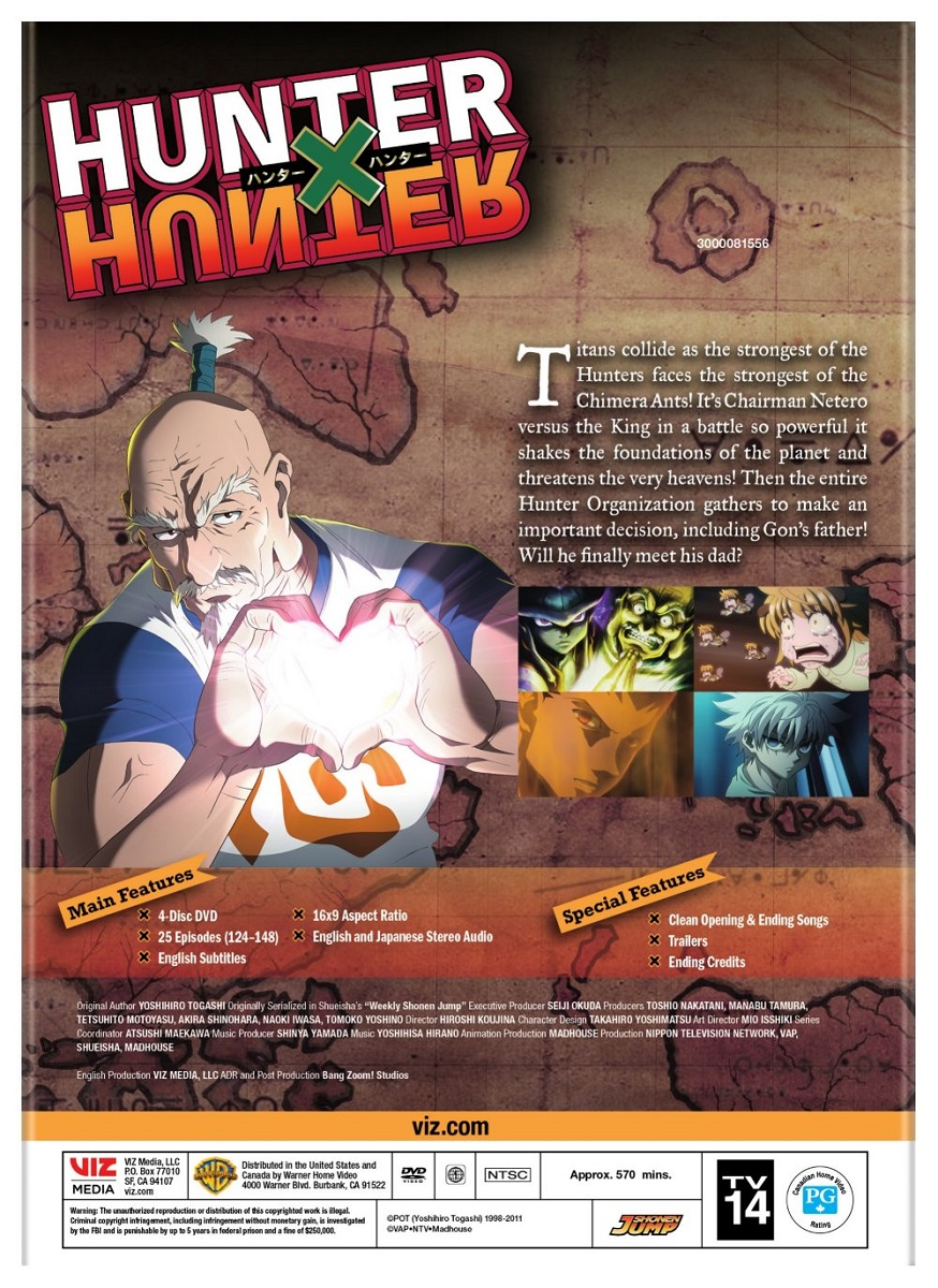Hunter X Hunter Set 7 DVD