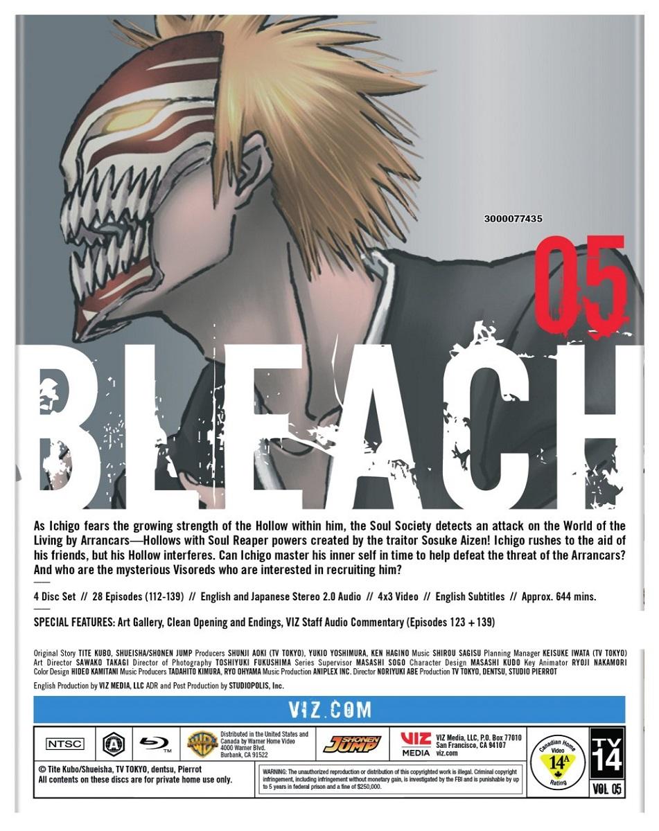 Bleach Set 5 Blu-ray