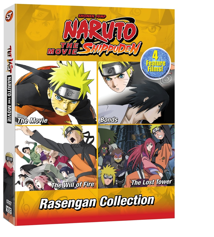 Naruto Shippuden The Movie Rasengan Collection DVD