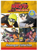 Naruto Shippuden The Movie Rasengan Collection DVD
