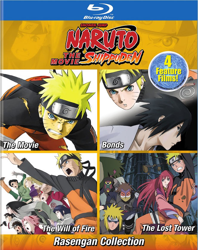Naruto Shippuden The Movie Rasengan Collection Blu-ray 782009245186