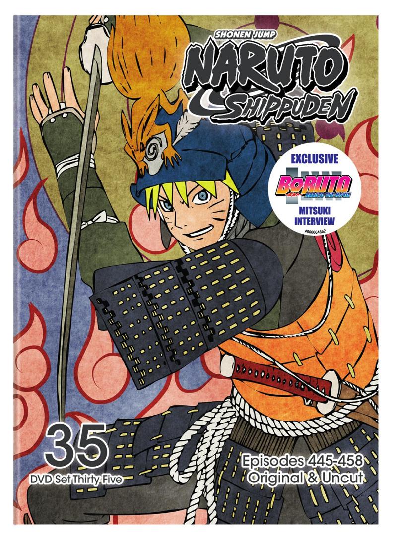 Naruto Shippuden Set 35 DVD Uncut