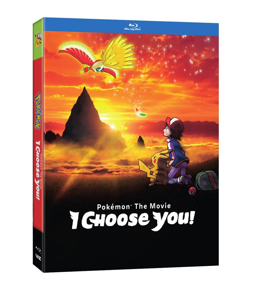 Pokemon the Movie I Choose You! Blu-ray