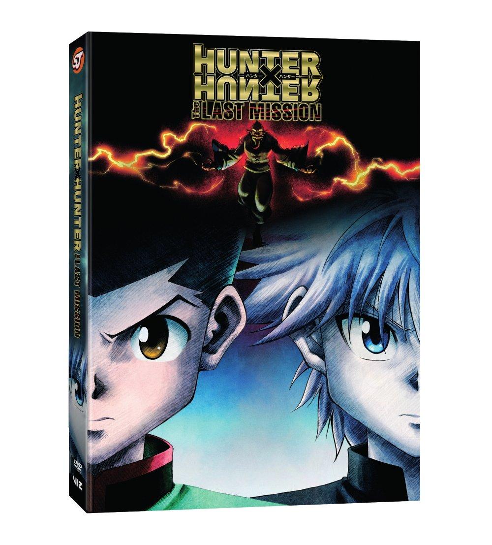 Hunter X Hunter The Last Mission DVD