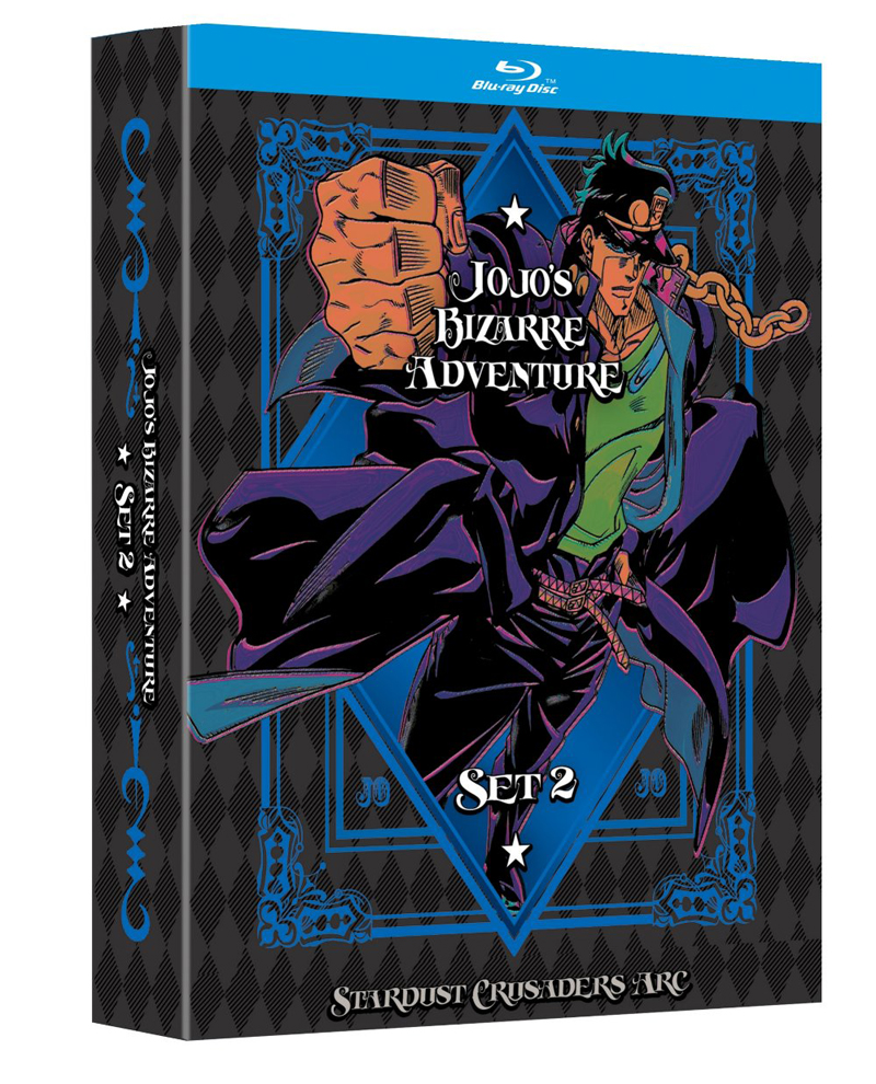 Jojo's Bizarre Adventure Set 2 Limited Edition Blu-ray + GWP