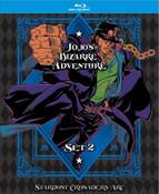 Jojo's Bizarre Adventure Season 2 Limited Edition Blu-ray + GWP