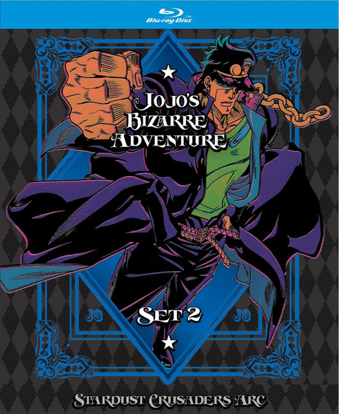 JoJo's Bizarre Adventure Season 2 LE Blu-ray + GWP