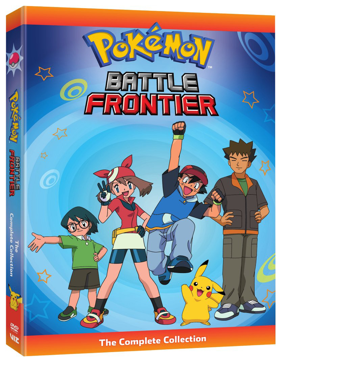 Pokemon Battle Frontier Complete Collection DVD