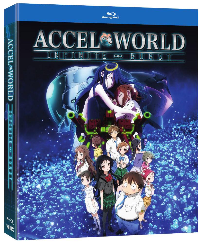 Accel World Infinite Burst Blu-ray