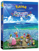Pokemon The Movie The Power of Us Blu-ray
