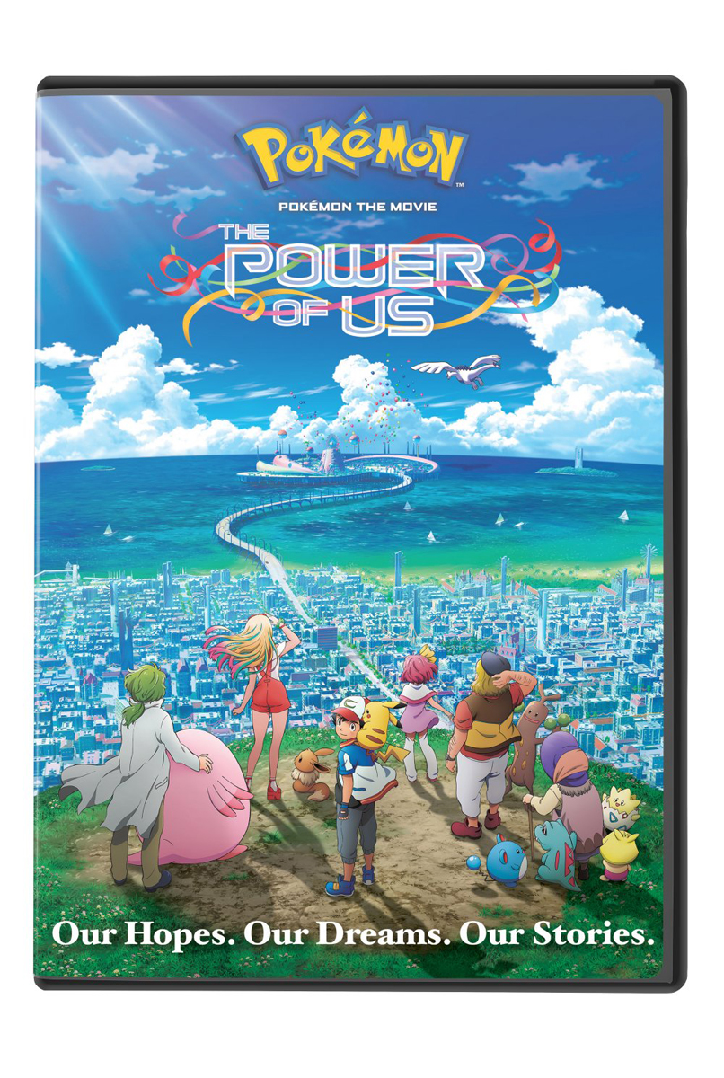 Pokemon The Movie The Power of Us DVD