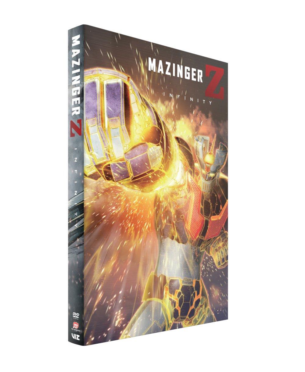 Mazinger Z Infinity DVD