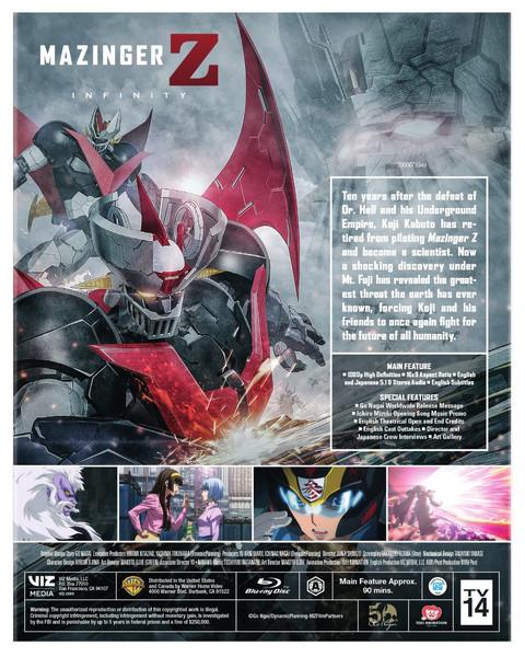 Mazinger Z Infinity Blu-ray