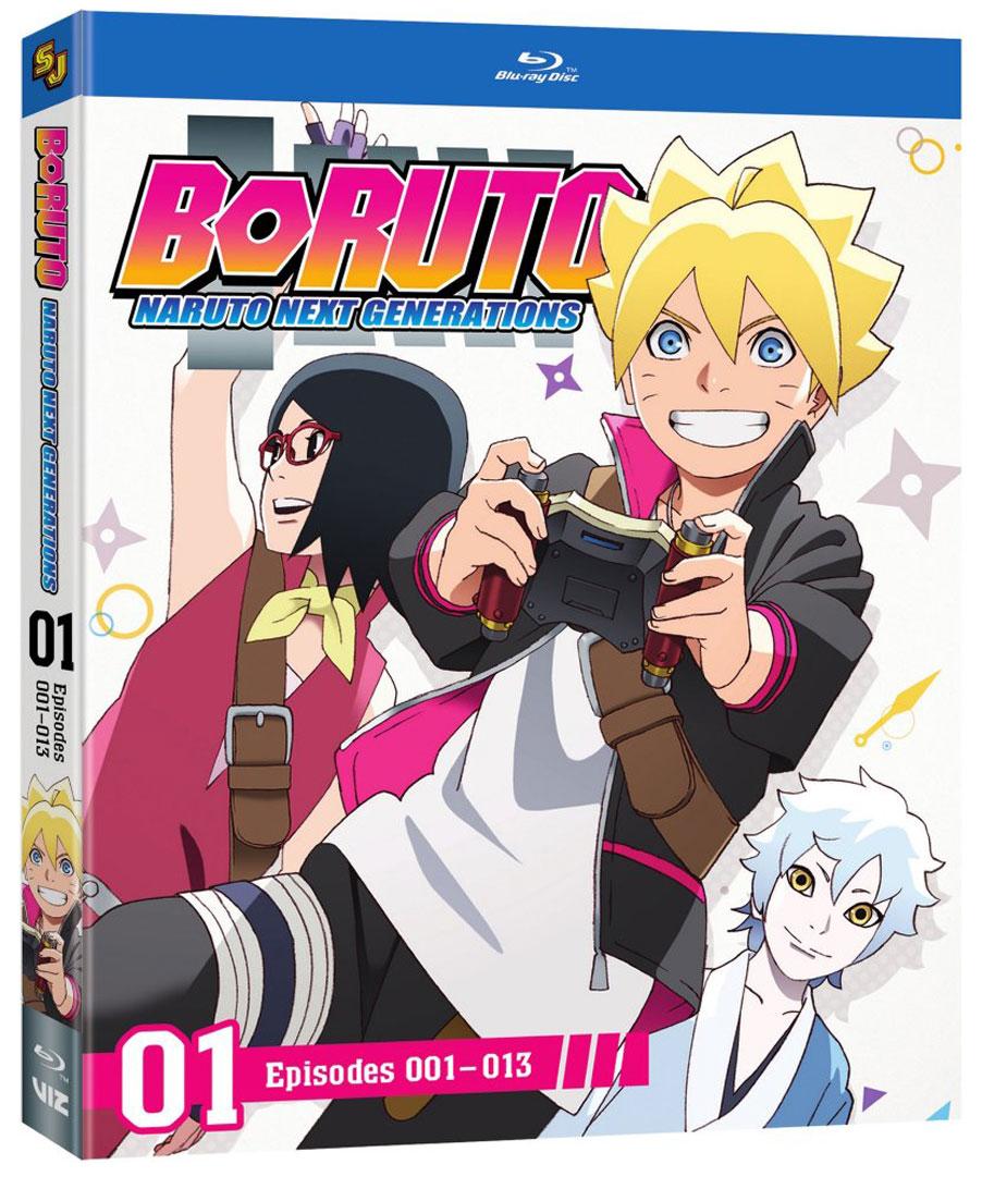 Boruto Naruto Next Generations Set 1 Blu-ray