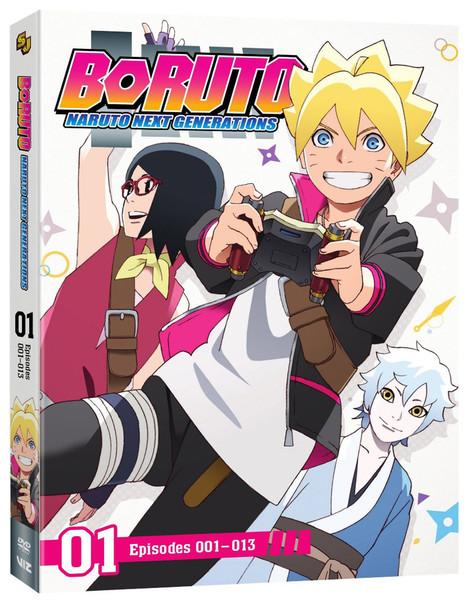 Boruto Naruto Next Generations Set 1 DVD
