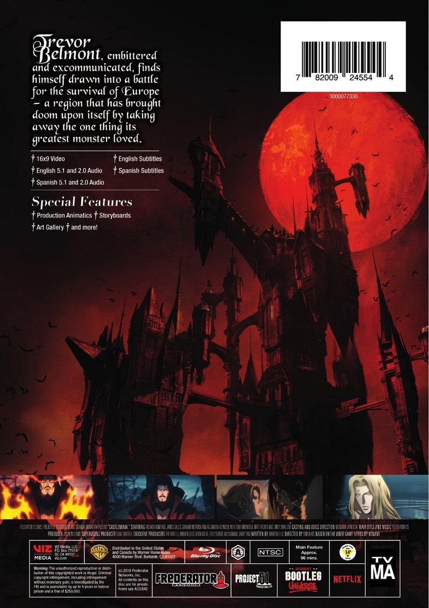 Castlevania Season 1 DVD
