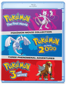 Pokemon Movies 1-3 Blu-ray